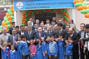 TPF'den Erciş'e okul, taziye evi ve sağlık ocağı