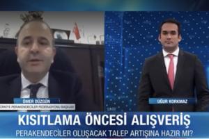 TPF Başkanı Ömer Düzgün, alışverişi günün her saatine yayarak yapılması çağrısında bulundu