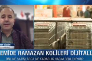 """TPF Başkanı Ömer Düzgün: """"Ramazan kolisi için online sipariş verilebiliyor"""""""