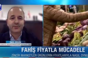 """TPF Başkanı Ömer Düzgün: """"Mağaza açılış kriterlerinin bir kurala bağlanması lazım."""""""