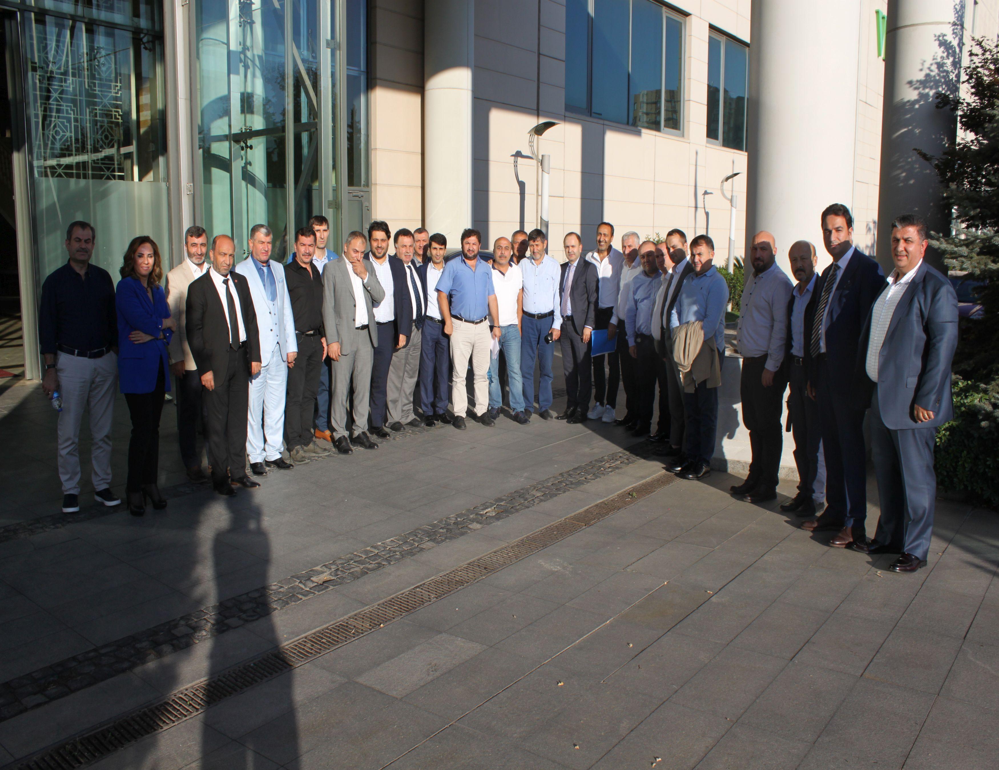 TPF Yönetim Kurulu ve PERDER Başkanları İstanbul'da buluştu